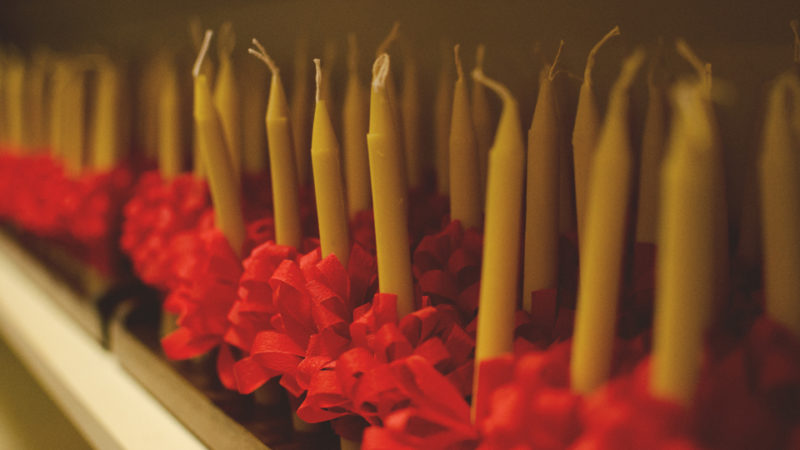 Lovefeast Candles