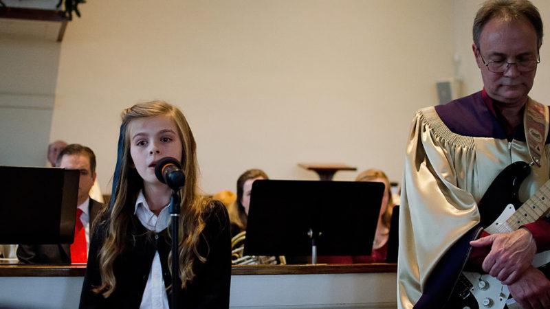 A few of our Choir members